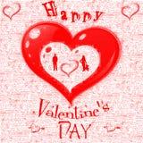 Illustrative obrazek walentynki dzień Miłość Obraz Stock