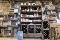 Illustrative Redakcyjny wizerunek Garmażeria sklep w Normandy, Francja Fotografia Stock