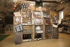 Illustrative Redakcyjny wizerunek Garmażeria sklep w Normandy, Francja Fotografia Royalty Free