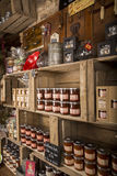 Illustrative Redakcyjny wizerunek Garmażeria sklep w Normandy, Francja Obraz Stock