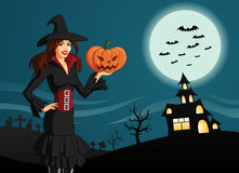 Illustraton dla Halloween Obraz Royalty Free