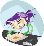 Illustrator Stockfotografie