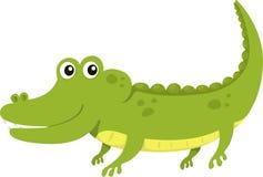 Illustrator of alligator. Illustrator aligator font a alphabet Royalty Free Stock Images