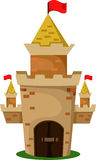 Illustrator of castle two Royalty Free Stock Photo