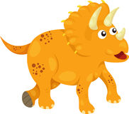 Illustrator of Dino Triceratops Royalty Free Stock Photography