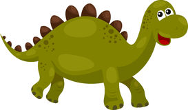 Illustration of Dinosaur Stegosaurus - dino Royalty Free Stock Photos