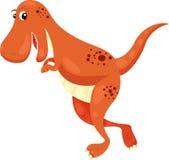 Illustration of T. Rex. dino Stock Photo