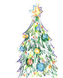 Illustrator Christmas Tree Vector Stock Photos