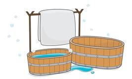 Illustrator de la limpieza grande Foto de archivo libre de regalías