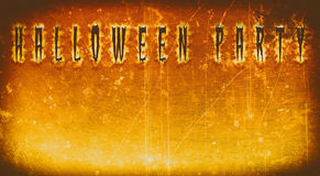 Illustrator halloween design : Plank copy space Horror orange tone. Illustrator halloween design : Plank copy space Horror orange tone for halloween background Stock Photography
