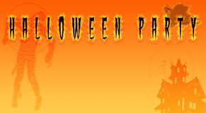 Illustrator halloween design : Plank copy space Horror orange tone. Illustrator halloween design : Plank copy space Horror orange tone for halloween background royalty free illustration