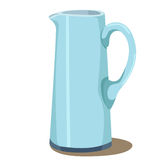 Illustrator of pitcher vector illustration