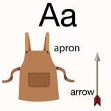 Illustrator of a vocabulary Royalty Free Stock Photos