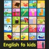 Illustrator of vocabulary A - Z alphabet Stock Photo