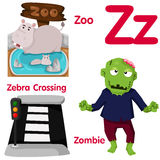 Illustrator of Z alphabet Stock Photos