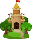 Illustratore del castello Illustrazione Vettoriale