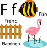 Illustratore dell'alfabeto di F Illustrazione Vettoriale