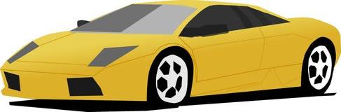 Illustratore dell'automobile illustrazione vettoriale