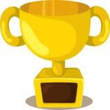 Illustratore della tazza di campioni dei trofei Illustrazione di Stock