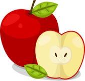 Illustratore delle mele Illustrazione di Stock