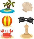 Illustratore di estate Illustrazione di Stock