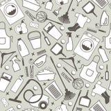 Illustratuon del vector de la limpieza Foto de archivo libre de regalías