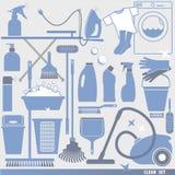 Illustratuon di vettore di pulizia Immagine Stock