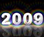 Illustrazione 2009 di anno Fotografie Stock Libere da Diritti
