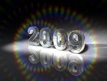 Illustrazione 2009 di anno Fotografia Stock