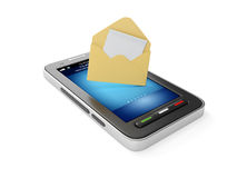 illustrazione 3d: Telefono mobile Immagini Stock