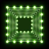 Illustrazione al neon Immagine Stock