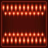 Illustrazione al neon Immagini Stock