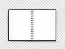 Illustrazione aperta della pagina del libro Oggetto di vettore illustrazione di stock
