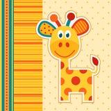 Vettore della giraffa Immagini Stock