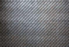 Illustrazione arrugginita del fondo 3d dell'armatura di scale del metallo immagine stock