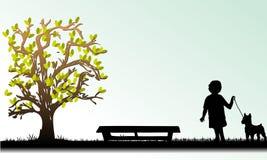 Illustrazione astratta Fotografia Stock