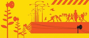 Illustrazione astratta Immagine Stock Libera da Diritti