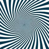 Illustrazione astratta blu del modello dello sprazzo di sole Fotografie Stock Libere da Diritti