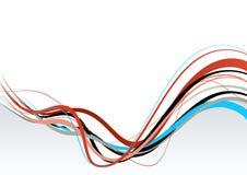 Illustrazione astratta con le righe. illustrazione vettoriale
