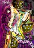 Illustrazione astratta creativa Fotografia Stock
