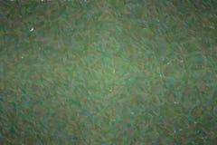 Illustrazione astratta del fondo lungo di puntinismo dei punti di verde scuro della giungla, digitalmente generata illustrazione vettoriale