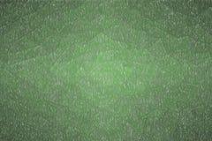 Illustrazione astratta del fondo scuro della matita di colore verde della giungla, digitalmente generata illustrazione vettoriale