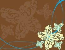 Illustrazione astratta della sorgente del fiore   Fotografie Stock