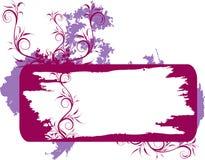 Illustrazione astratta della sorgente del fiore   Fotografia Stock