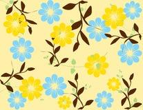 Illustrazione astratta della sorgente del fiore   Immagini Stock Libere da Diritti