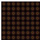 Illustrazione astratta di multi cerchi geometrici colorati immagini stock libere da diritti