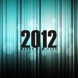 Illustrazione astratta di nuovo anno felice Fotografia Stock
