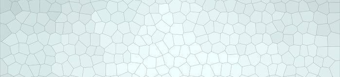 Illustrazione astratta di piccolo fondo dell'insegna di esagono di Gainsboro, digitalmente generata illustrazione vettoriale
