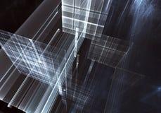 Illustrazione astratta di tecnologia 3D Fotografie Stock