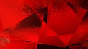 Illustrazione astratta di un fondo rosso Fotografie Stock